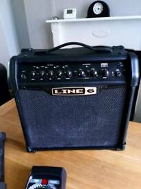 Line 6 spider classic and effects pedal