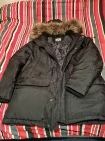 Mens Coat Black