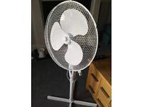 Brand new free standing fan