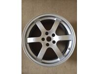 "Rays Engineering Forged 18"" Front Alloy Wheel Rim (Nissan 350Z)"