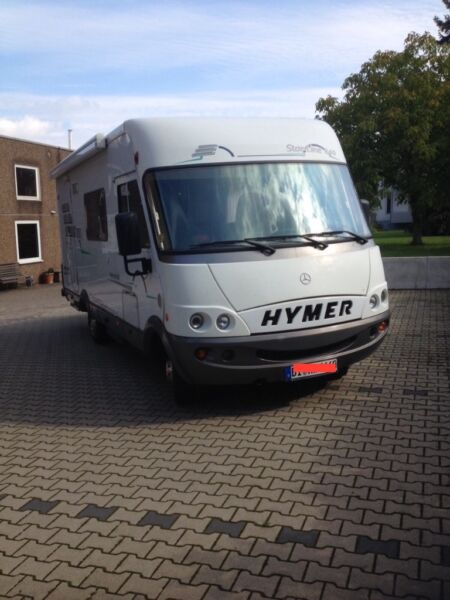 hymer b 640 starline top zustand navi abs vieles. Black Bedroom Furniture Sets. Home Design Ideas