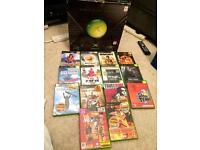 Original Xbox boxed + games