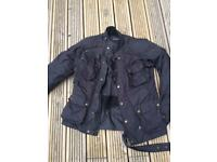 Motorcycle Jacket- Frank Thomas - Small