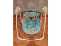 Baby swing/musical chair