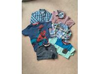 Boys Ralph Lauren, John Lewis & Lambretta shirts, Marvel Spider Man T-shirt- for 3 year old