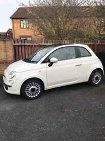 Fiat 500 Lounge Edition |0.9 Twin Turbo | White | Good Condition| 48K Miles | Long MOT | NO Road Tax
