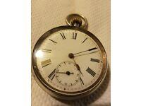 Rare ww1 silver pocket watch
