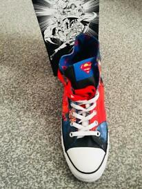 Adult Superman converse! Never been worn