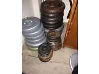 10kg plates 2.5 kg and 1.25 kg