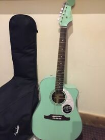 Top brand, Fender accoustic guitar (California series) for cheap price!