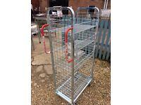 Commercial Utility Service Shelf Trolley