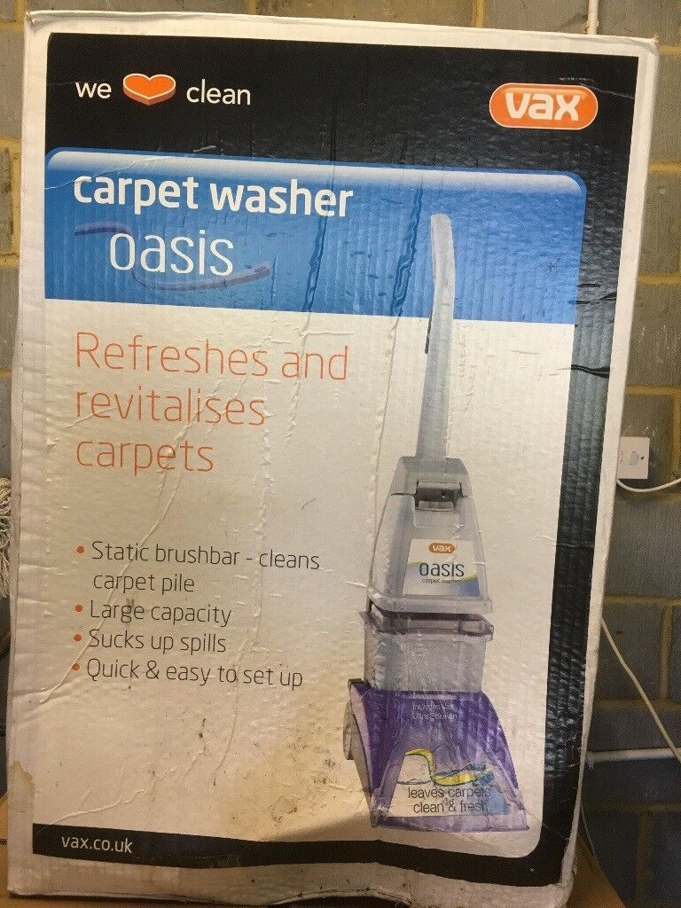 Unopened VAX carpet washer Oasis