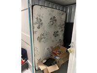 doublebed matress + bed frame IKEA NEIDEN for FREE