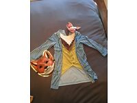 Halloween Mr Fox Full Costume Age 5-6 Years