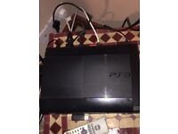 PS3 slim with gta V and black ops two