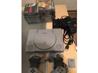 Ps1 bundle and 15 games (Playstation)