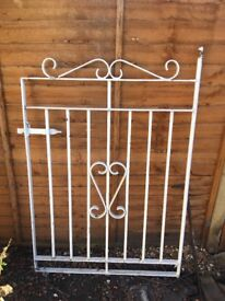 Iron metal gate - collection only
