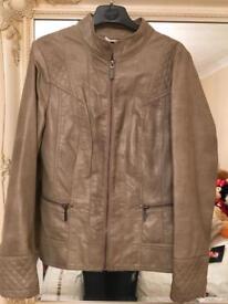 Wallis - Ladies Jacket / Coat - Dull Beige - Size 10