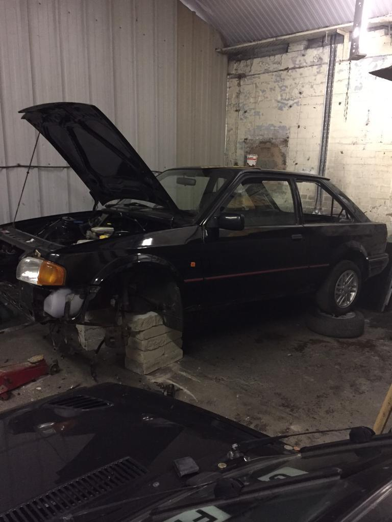 Escort Xr3i unfinished project rs turbo