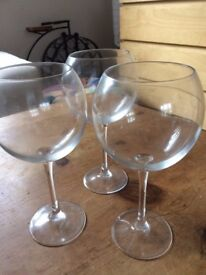 ARC International luminar Cabernet Red Wine glasses, 20-Ounce set of 3