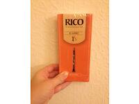 Rico Bb Clarinet Reeds 1 1/2 strength