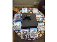 PS 4 with games