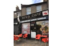 Coffe shop and 2 bed flat free hold for sale