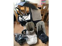 Bugaboo cameleon travel system pushchair and accessories
