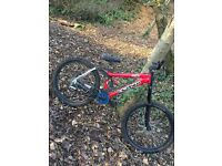 Kona stab downhill mountain bike