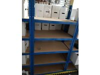 RETAIL WAREHOUSE STORAGE SHELVING RACKING SLAT WALL PALLET TRUCKS EBAY BOXES ACCESSORIES ALL MUST GO