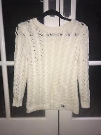 Gilly Hicks Ivory Sweater
