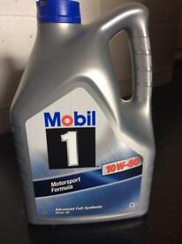 Mobile 1 motor oil car oil