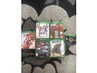6 XBOX ONE GAMES ALL GREAT WORKING ORDER