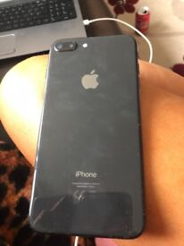 iPhone 8plus 256gb black