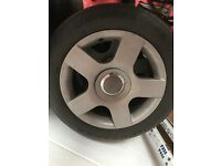 Audi alloys with tyres 205/55/16