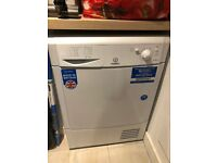 GONE PENDING COLLECTION - Indesit 8kg Condenser Tumble Dryer - White - Excellent Condition