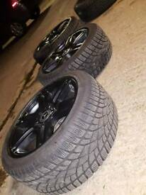"Mercedes Amg winter tyres 17"""