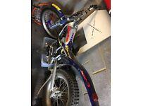 Beta Rev3 250 trials bike