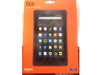 AMAZON FIRE TABLET AND CASE