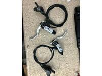 shimano xt hydraulic brake set M765