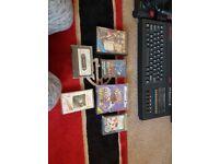 Retro system bundle spectrum commodore 64 in box amiga 500 plus 100 games and accesories