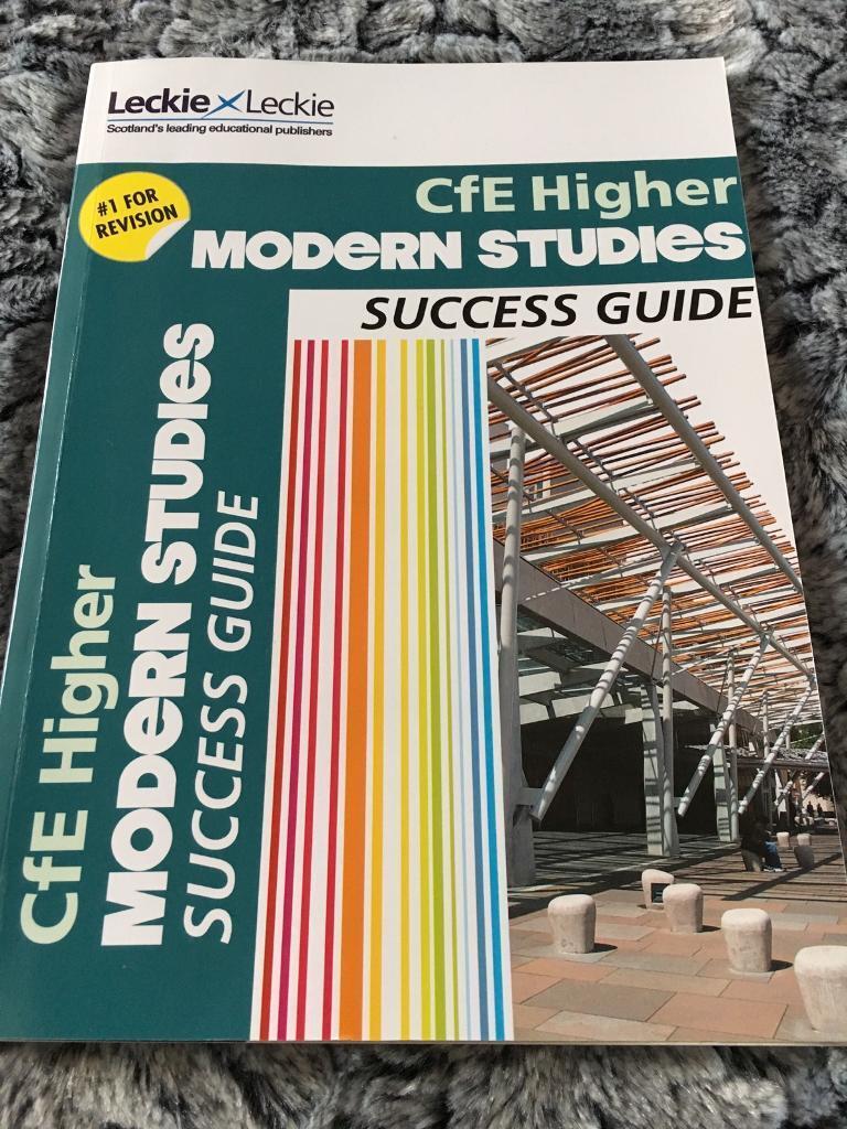 Modern Studies CfE Higher Success guide