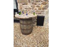 Oak Whiskey Barrels