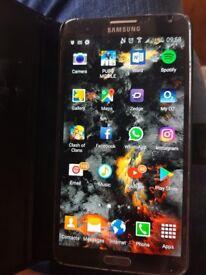 Samsung note 3 black