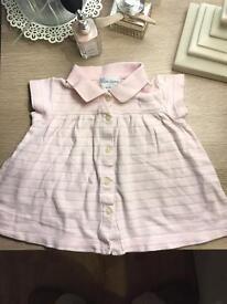 Ralph Lauren Baby girl top 0-3 months