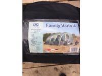 Sunn Camp family vario 4 tent