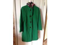 Precis wool coat size 12