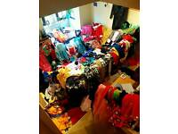 Joblot of over 70 ex-hire fancy dress outfits Kids & Adults Top Brands Rubies Smithys Disney