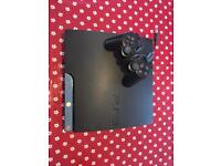 PS3 Console with controller and charger