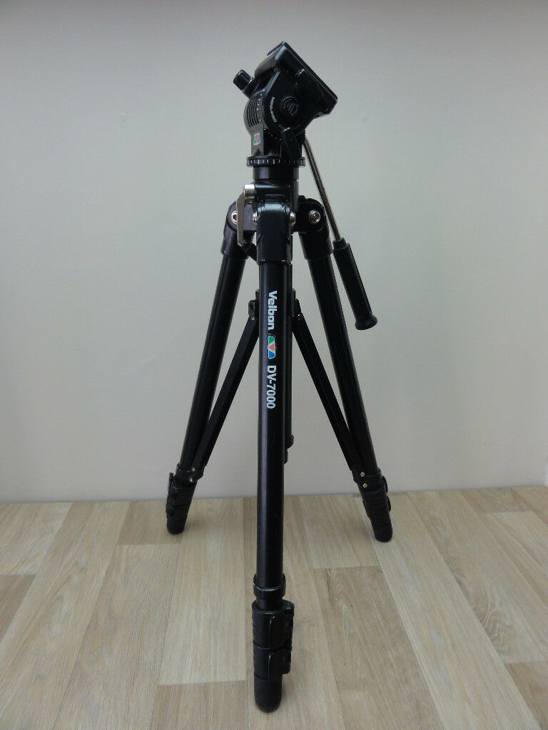 Velbon DV-7000 Professional Camera Aluminium Tripod Quick Release Fluid Head